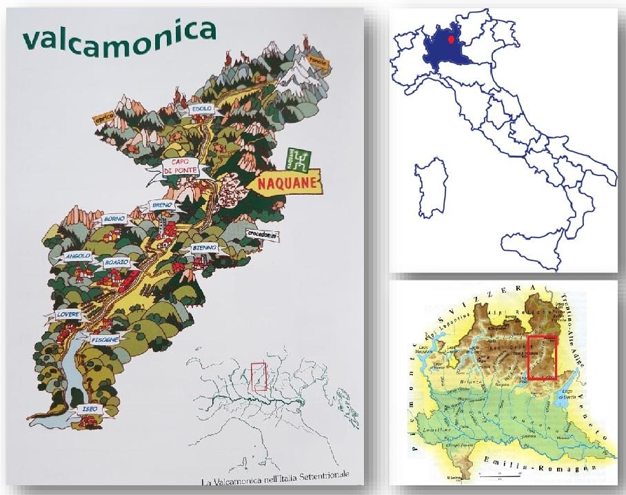 Cartina Italia Brescia.Valcamonica E Cerveno Brescia Emozione Italia