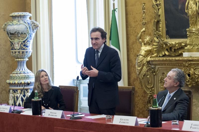 Convegno Camera dei Deputati - Roma 23.1.2018 - S. Dambruoso inaugura il Convegno
